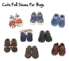"""Cute Fall Shoes For Boys"" by thehousewife on Polyvore featuring Robeez"
