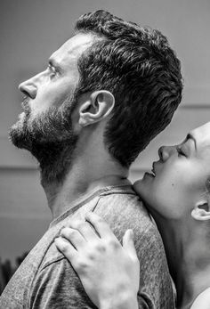 Richard (John Proctor) and Samantha Colley (Abigail Williams) in rehearsal for The Crucible (The Old Vic, London, 2014), photo: Johan Persson