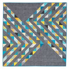 Additional Images of Selkie Quilt Kit by Coras Quilts - ConnectingThreads.com