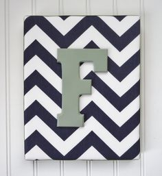 Wall Letters Nursery Decor Upholstered Letters by fabbdesigns, $18.99