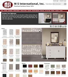 Bathroom Renovation Visualizer focus olive porcelain flooring room scene | bathrooms | pinterest