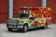 Portraits of Hope - Aspen-Snowmass Rescue Project - 32 Fire Trucks and… Ford Ambulance, American Ambulance, Columbus Fire Department, Aspen Snowmass, Gta, Fire Equipment, Fire Apparatus, Search And Rescue, Emergency Vehicles