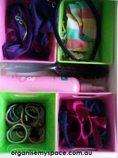 Bathroom Organising Tip - Organising Your Drawers - FInding a place for all the fiddly things