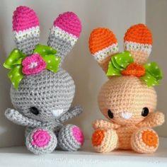 conejos a crochet - Buscar con Google