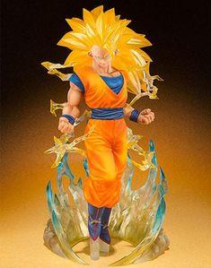 Dragon Ball Z Super Saiyan 3 Son Goku Figure Statue Toy