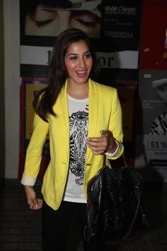 Sophie Chaudhary at Race 2 Special Screening.