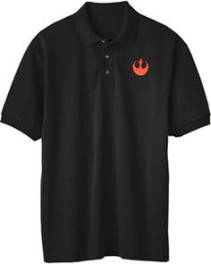 Star Wars Rebel Logo Embroidered Polo Shirt Embroidered Polo Shirts, Star Wars Rebels, Polo Ralph Lauren, Stars, Logos, Mens Tops, T Shirt, Fashion, Supreme T Shirt