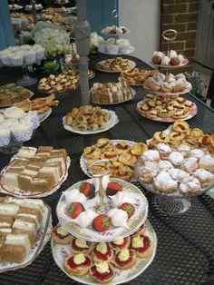 Ben and Lisa's post wedding tea. Tea Party Menu, Party Food Buffet, Brunch Buffet, Easy Party Food, Party Platters, Brunch Party, Dessert Buffet, Food Platters, Fancy Appetizers