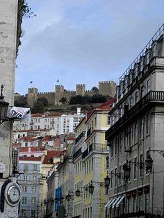 Castelo de São Jorge, no alto - Lisboa