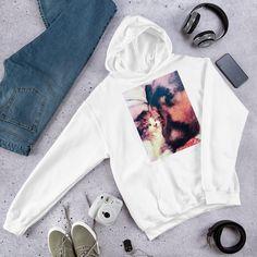 The Snuggle Hooded Sweatshirt Snuggles, Rib Knit, Hooded Sweatshirts, Hoods, Cute Outfits, Knitting, Stylish, Cotton, Pretty Outfits