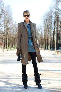 On the Street…..Late Winter, Paris - Street Fashion