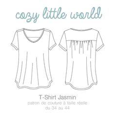 Image of Patron PDF - T-Shirt Jasmin