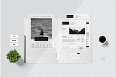 Elegant and stylish blog media kit for fashion bloggers, beauty bloggers, lifestyle bloggers, fashion businesses, beauticians, and stylists. It is a great tool for pitching your blog or business to companies to partner with you and outshine the competition.#clenResume #coverLetter #creativeCv #CurriculumVitae #cv #Template #ResumeTemplate #modernResume #MicrosoftWord #ApplePages Template Brochure, Student Resume Template, Flyer Template, Creative Cv, Find Fonts, Media Kit, Branding Kit, Print Templates, Proposal