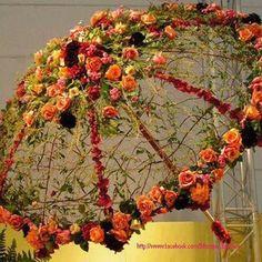 Floral Umbrella...