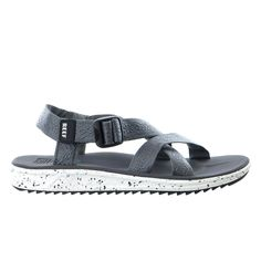 Don't head up the creek without any paddling. The Reef Rover XT sandals borrow a page from Reef's rich history with the ultimate multi-strap sport sandal. Both the straps and the upper are a coated te Lit Shoes, Men's Shoes, Dance Shoes, Golf Shoes, Kayaking Outfit, Sport Sandals, Women Sandals, Shoes Women, Men's Sandals