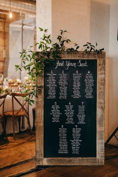 seating chart wedding
