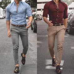 Beautiful outfit for men cc: @ gentlemenscrate casual outfits for men in 20 Formal Dresses For Men, Formal Men Outfit, Formal Shirts For Men, Stylish Mens Fashion, Stylish Mens Outfits, Fashion Edgy, Fashion Hair, Cheap Fashion, Fashion Styles