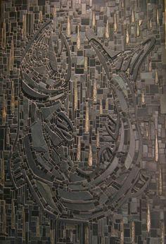 daily bread mosaic - Michael J Gasch