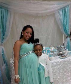 Tiffany Blue Baby Shower Party Ideas