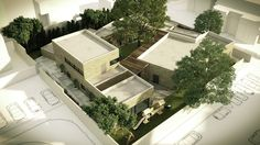 Firms from London and Israel Design a Domestic Abuse Shelter in Israel,Courtesy of Amos-Goldreich Architecture