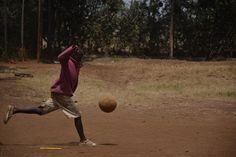 Simone Ventura boy play football