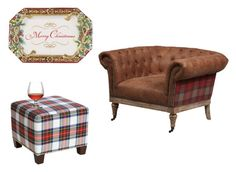 A home decor collage from November 2016 featuring red leather arm chair, nailhead trim ottoman and hors d oeuvre tray. Interior Decorating, Interior Design, Nailhead Trim, Ottoman, Armchair, Skyline, Interiors, Polyvore, Furniture