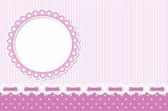 Rayada púrpura y lila Poa - Con Kit completo de los marcos párr Las Invitaciones, estas etiquetas golosinas, Y fotos de recuerdo! | Hacer ¡nuestr ... Christening Invitations Girl, Baby Christening, Baby Scrapbook, Scrapbook Paper, Scrapbooking, Hello Kitty Invitations, Baby Girl Clipart, Molduras Vintage, Kids Sandbox