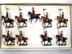 Georg Heyde Zinnfiguren 9 Preußische Ulanen OVP Höhe ca. 6,5cm /534 | eBay