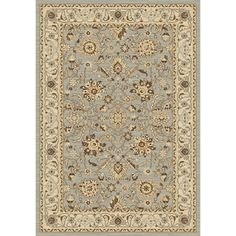 @Overstock - Safavieh Florenteen Grey/ Ivory Rug (6' x 9') - Safavieh's Florenteen collection is inspired by timeless traditional designs crafted with the softest polypropylene available.  http://www.overstock.com/Home-Garden/Safavieh-Florenteen-Grey-Ivory-Rug-6-x-9/9508928/product.html?CID=214117 $175.09