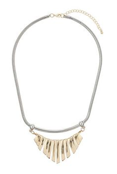 Bar Triangle Necklace