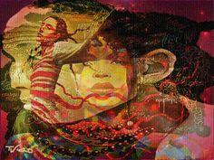 Lost in dreams - copyright Thea te Walvaart
