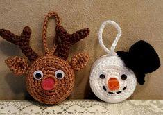 Crochet Christmas Ornaments, Holiday Crochet, Crochet Snowflakes, Christmas Tea, Primitive Christmas, Christmas Knitting, Crochet Gifts, Free Crochet, Christmas Decorations