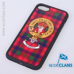 Robertson Clan Crest iPhone Case. Free Worldwide Shipping Available