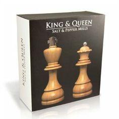 King and Queen Salt & Pepper Grinders $49.89