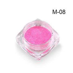1g Holographic Mermaid Nail Glitter Powder Shimmer Glitter Pigment Nail Powder Dust Laser Magic Glimmer Power Nail Art SAM01-M12