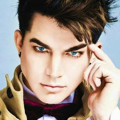 Adam lambert is the best thing this world has to offer, hes eyes are piercing into my soul!