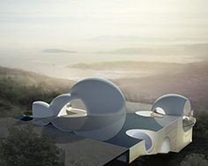 steven holl architects extends chinpaosan necropolis with intersecting spheres