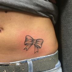small bow tattoo #ink #YouQueen #girly #tattoos