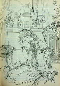 Elena Boariu - Domnita Ruxandra Fairytale Book, Book Illustrations, Fairy Tales, Illustrator, Fantasy, Art, Art Background, Fairytale, Imagination