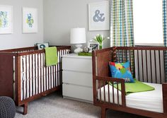 Trying to design a creative room for your boy or girl that is gender neutral? Look at these ideas from choosing colors, bedding a theme and more.