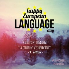 Happy European Language Day :)