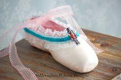 Clara Marie Decorated Pointe Shoe