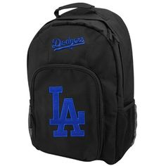 L.A. Dodgers Black Southpaw Backpack
