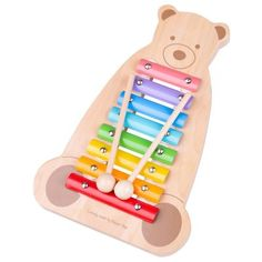 Buy Tildo Musical Bear Soft Toy at Argos. Thousands of products for same day delivery or fast store collection. Early Music, Musical Toys, Argos, Musicals, Instruments, Bear, Children, Note, Products