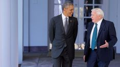 Sir David Attenborough and President Obama: The Full Interview. Even Obama was starstruck by the mesmerising tones of Sir David A.