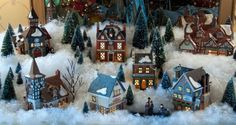 Dickens Village at Christmas » Cindy Starkey Photography