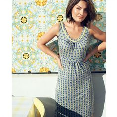 Boden Polka Dotted Grey 'Sienna Dress'
