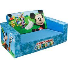 Marshmallow 2-in-1 Flip Open Sofa, Disney Mickey Mouse