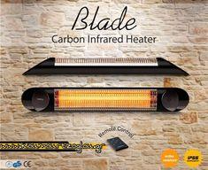 Infrared Heater, Blade, Remote, Company Logo, Llamas, Pilot