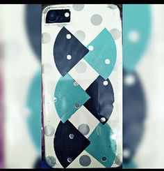 Design your iPhone back cover using craft items and other decorative pieces. Taking the help of online videos you can make them quite easily.